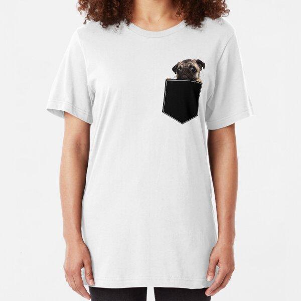 Pug Pocket Slim Fit T-Shirt