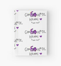 conFABulate, HENNIIIIII Hardcover Journal