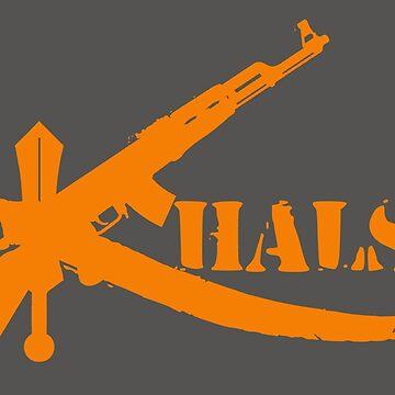 Khalsa AK47 by inkstyl