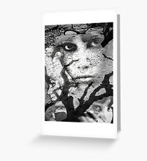 If you only knew the scars you left..... Greeting Card