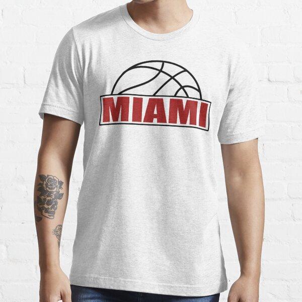 Id/ée de cadeau r/étro de basket-ball vintage Miami Floride T-Shirt