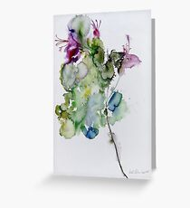 Favourite flower Greeting Card