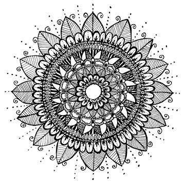 Flower Mandala by ClaraFae