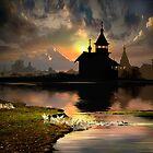 Evening Silhouettes by Igor Zenin