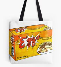 Eggo Waffles Tote Bag