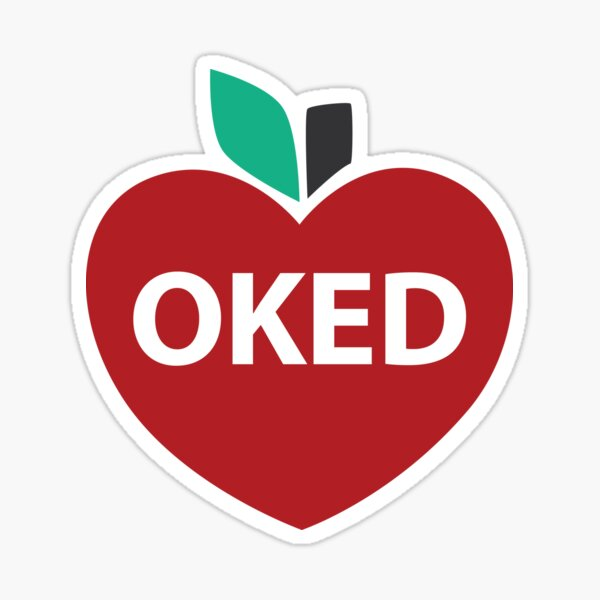 OKED Oklahoma Education Sticker
