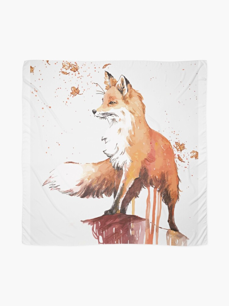 Alternate view of Beautiful Fox Scarf