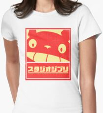 Ghibli Women's Fitted T-Shirt