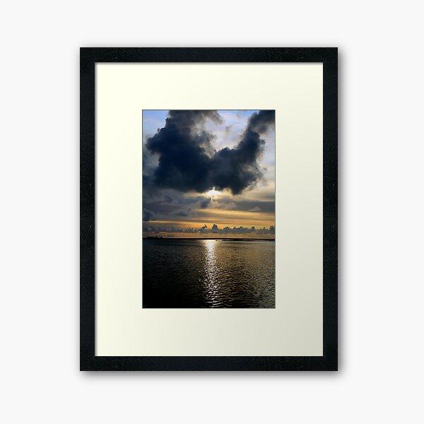 Loch Bee Framed Art Print