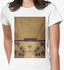 Building, Technopunk, Steampunk, Cyberpunk Women's Fitted T-Shirt