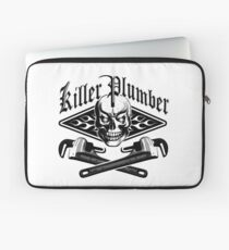 Plumber Skull and Wrenches 3.1 Laptop Sleeve