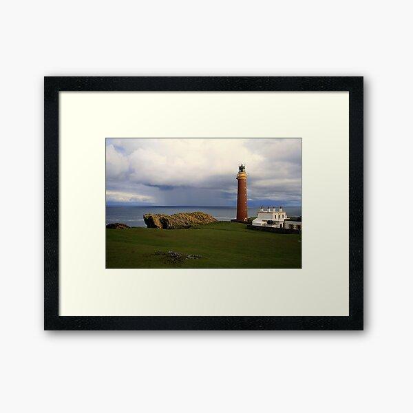 Lighthouse  Butt of  Lewis Framed Art Print
