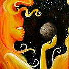 The Sun and Mercury by Abdiellisse Almodovar
