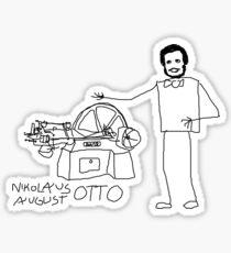 August Otto by BN18 Sticker