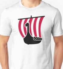 Viking ship Unisex T-Shirt