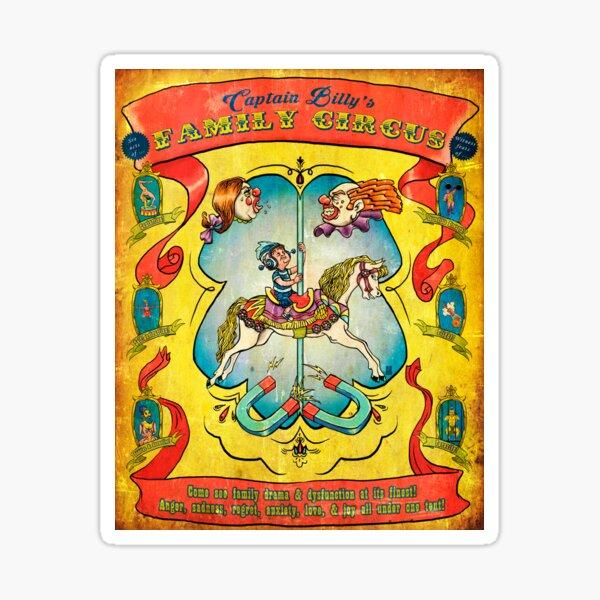 """Family Circus"" Sticker"