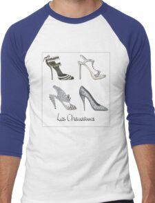 Les Chaussures Men's Baseball ¾ T-Shirt