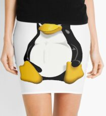 Linux Penguin Mini Skirt