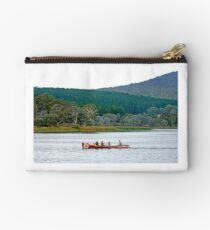 Surfboat on Lake Wallace Studio Pouch