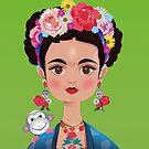 Frida Khalo by IsabelSalvador