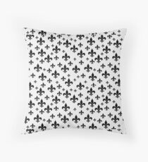 fleur de lis pattern  Throw Pillow