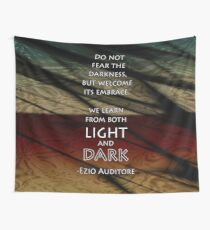 Embrace Darkness Wall Tapestry