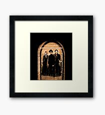 The IT Crowd:  Turn it off and on again Framed Print