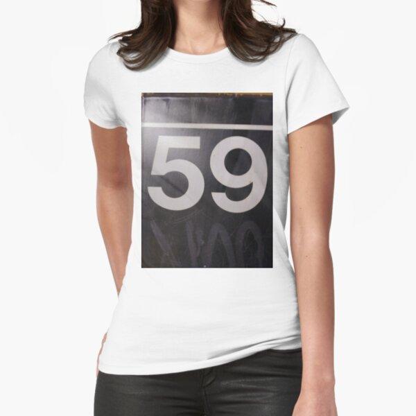 Number, Building, Technopunk, Steampunk, Cyberpunk Fitted T-Shirt
