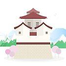 Asian Castle by Berker Sirman