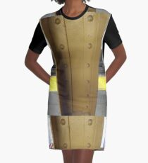 Technopunk, steampunk, cyberpunk Graphic T-Shirt Dress