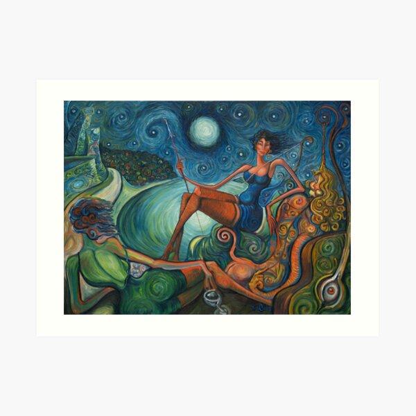 Chapultepec, Diana the hunter Art Print