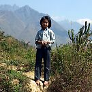 Young girl in Tam Duong area of North West Vietnam by Bev Pascoe