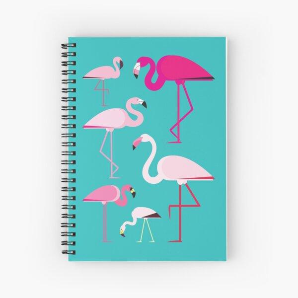 Flamingos Spiral Notebook