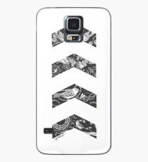 Liam's Chevrons Hülle & Klebefolie für Samsung Galaxy