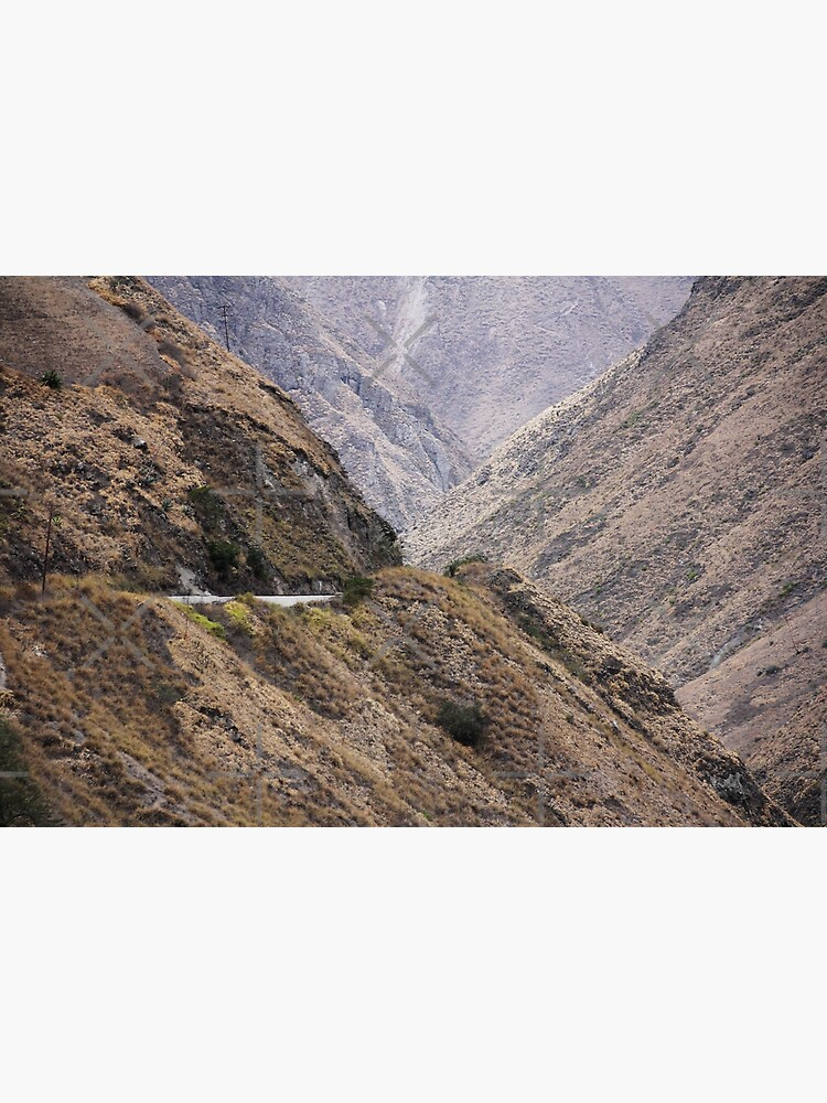 Intersection of valleys, mountains and hillsides near Alausi, Ecuador by kpander