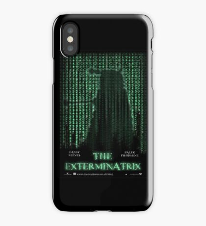 THE EXTERMINATRIX iPhone Case/Skin