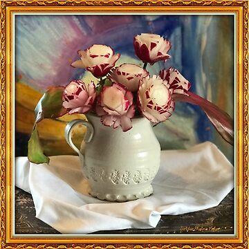 Radish Roses  by Dottiepvisker