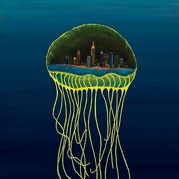 Atlanta Jellyfish  by ZenGalacticore