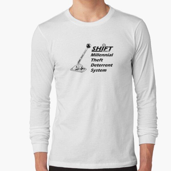 Shift Shirts Theft Deterrent - Manual Transmission Long Sleeve T-Shirt