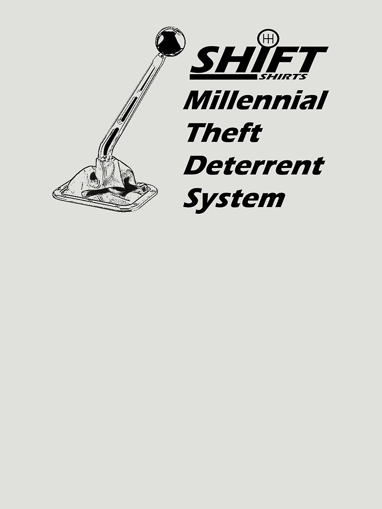 Shift Shirts Theft Deterrent - Manual Transmission by ShiftShirts