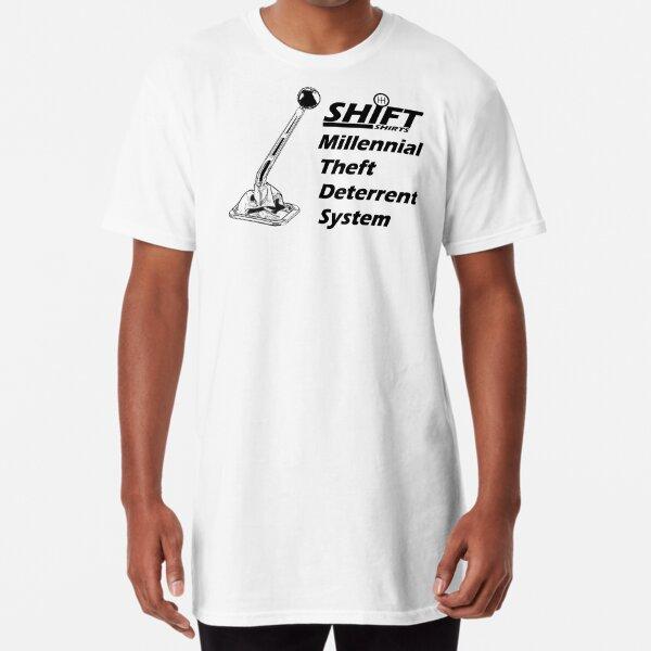 Shift Shirts Theft Deterrent - Manual Transmission Long T-Shirt