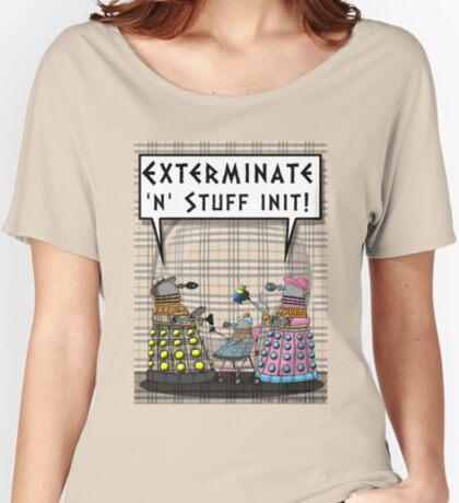 Chav Daleks Women's Relaxed Fit T-Shirt