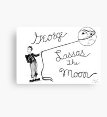 Lasso the Moon Canvas Print