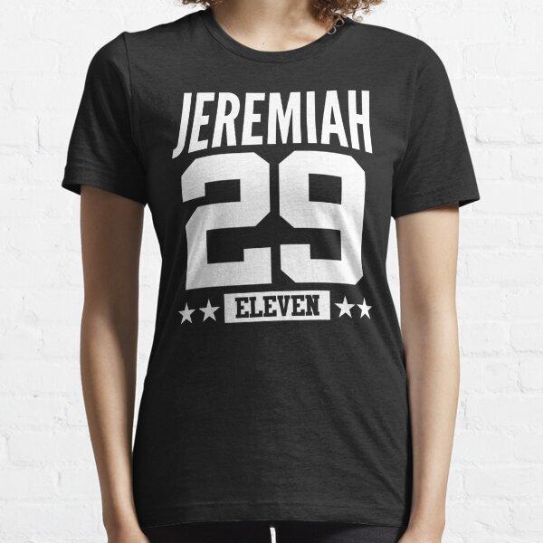 Jeremías 29:11 Once versículo bíblico de la Biblia Regalo cristiano Camiseta esencial