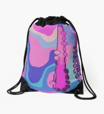 Psychedelic Drawstring Bag
