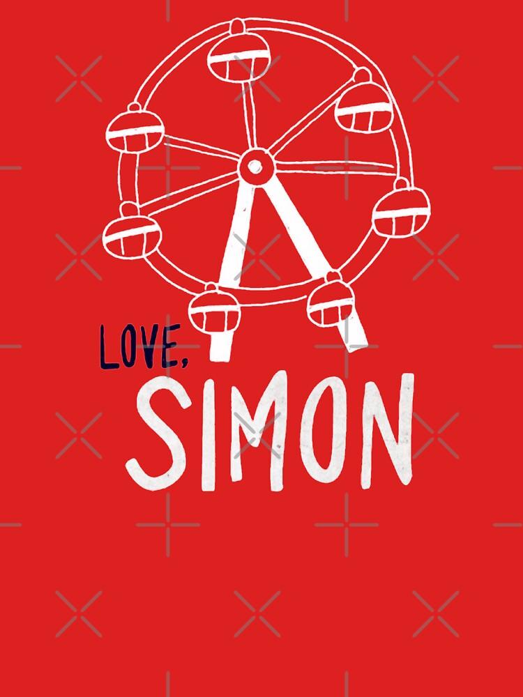 Love, Simon Ferris wheel  by nicoloreto