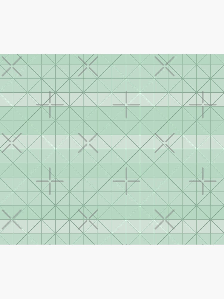 Geometric pattern mint green by PrintablesP