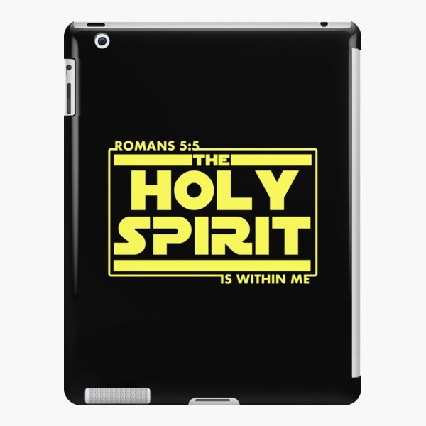 Holy Spirit Is Within me - Romans 5:5 Bible Scripture Verse Christian Gift iPad Snap Case