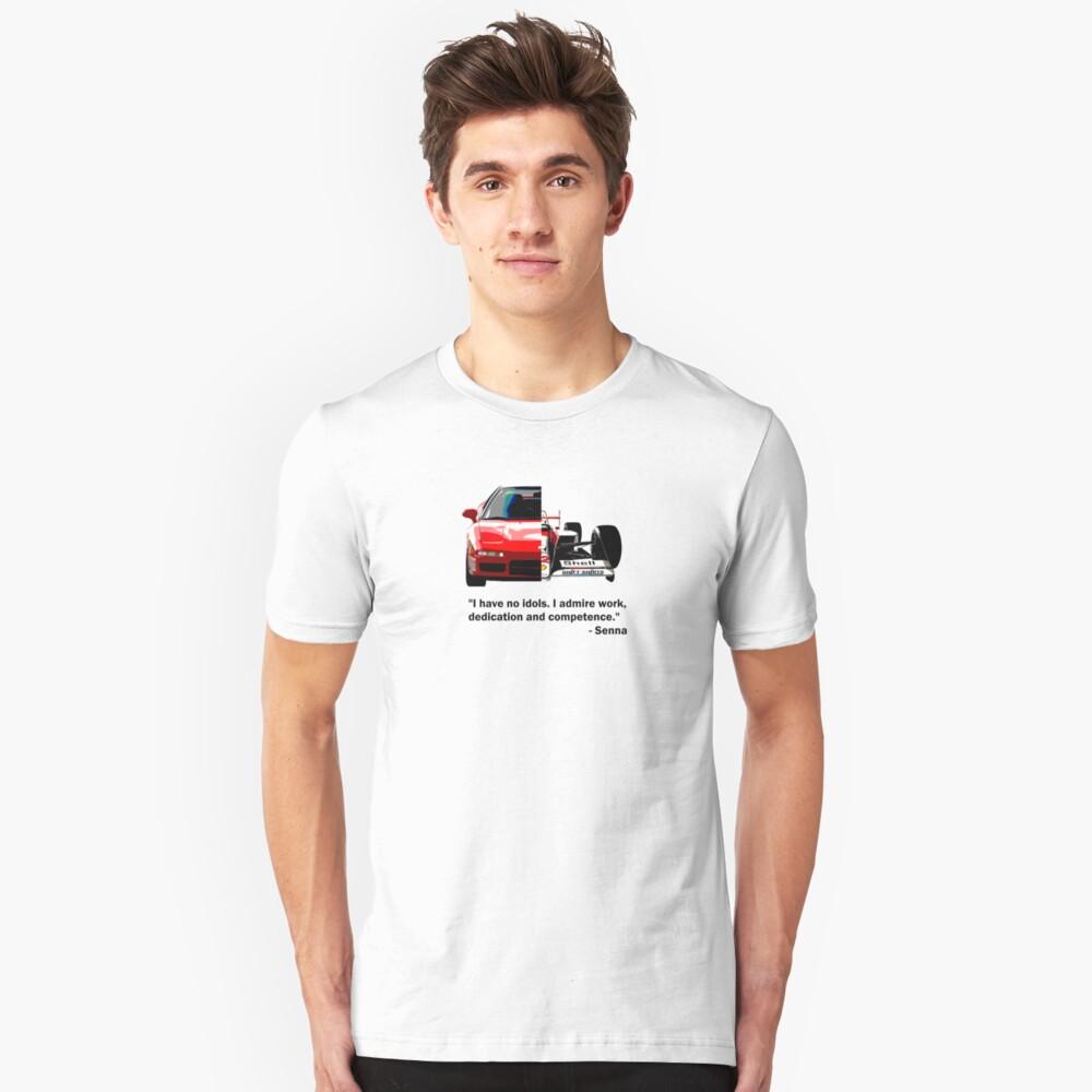 Shift Shirts Senna -  F1 Inspired Unisex T-Shirt Front