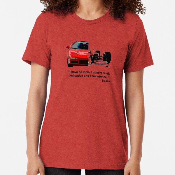 Shift Shirts Senna -  F1 Inspired Tri-blend T-Shirt